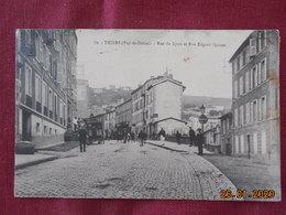 CPA - Thiers - Rue De Lyon Et Rue Edgard Quinet - Thiers