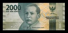 # # # Banknote Indonesien (Indonesia) 2.000 Rupiah UNC # # # - Indonesien