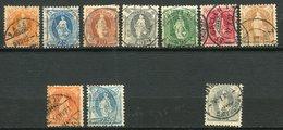Suisse - 1904 -> 1907 - Yt 93 à 99 + 92 + 93a Et 94a - Oblitérés - Oblitérés