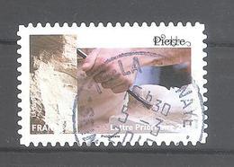 France Autoadhésif Oblitéré N°1079 (Art Et Matière) (cachet Rond) - Used Stamps