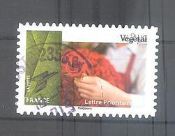 France Autoadhésif Oblitéré N°1080 (Art Et Matière) (cachet Rond) - Used Stamps