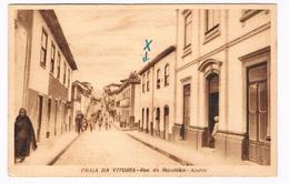 AZ-96  PRAIA DA VITTORIA : Rua Da Republica - Açores