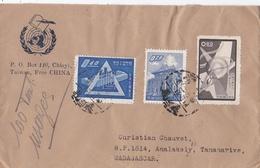TAIWAN  FORMOSE  :  Lettre De Taiwan Pour Madagascar 1959 - Lettres & Documents