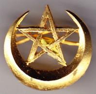 Tirailleurs Marocains. Insigne De Chèche. 18 Mm. SM. à Griffes. - Armée De Terre