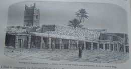 Boutiques A Tougourt ( Oued Rir),  Algerie, Algeria,  Old Engraving 1861 TDM1861.2.192 - Prints & Engravings