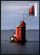 NORVEGIA / NORWAY 2015 - Faro Di Kjeungskjaer - Maximum Card Come Da Scansione. - Fari