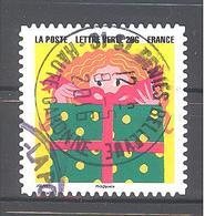 France Autoadhésif Oblitéré N°1191 (Bonne Année) (cachet Rond) - Usati
