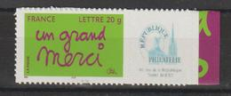 France Personnalisés 2005 Merci 3761B ** MNH - Gepersonaliseerde Postzegels