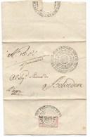 PERIODO NAPOLEONICO - DA SENIGALLIA A BELVEDERE - 10..1813. - 1. ...-1850 Prephilately