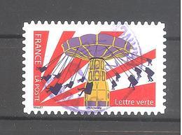 France Autoadhésif Oblitéré N°1440 (La Fête Foraine) (cachet Rond) - Francia