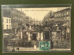 SEDAN- La Halle En Démolition (Février 1913). - Sedan