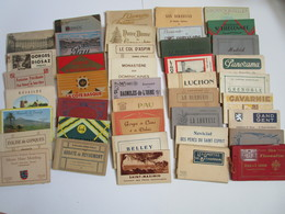 Lot  De  41 Carnets  De  Cartes  Postales  Anciennes  Divers - Postcards