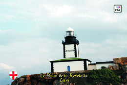 Set 6 Cartes Postales, Phares, Lighthouses Of Europe, France, Calvi, Le Phare De La Revelatta - Vuurtorens