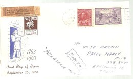 LETTER 1963 - 1952-.... Regno Di Elizabeth II