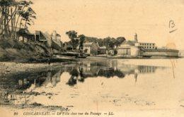 B64875 Cpa Concarneau - La Ville Close Vue Du Passage - Concarneau