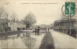 - Cher -ref-670- Bourges - Bords Du Canal - Ecluse Messire Jacques - Ecluses - Canaux - Carte Bon Etat - - Bourges
