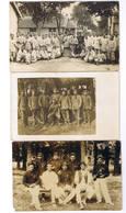 LOT DE 25 CARTES POSTALE ET PHOTO MILITARIA A IDENTIFIER  TOUTES SCANNEES - 5 - 99 Karten
