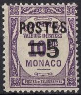 MONACO  N* 140 TB Charniere - Monaco
