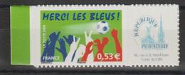 France Personnalisés 2006 Merci Les Bleus 3936B ** MNH - Gepersonaliseerde Postzegels
