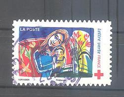 France Autoadhésif Oblitéré N°1429 (Au Profit De La Croix-Rouge) (cachet Rond) - Frankrijk