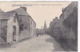 Ille-et-Vilaine - Châtillon-en-Vendelais - Rue De La Gare Et Entrée Du Bourg - Other Municipalities