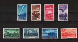 1948 -Aviation Et Marine   Mi No 1145/1152 Et Yv No 1054/1061 MNH - Ungebraucht