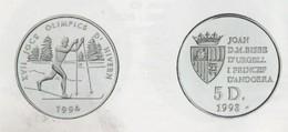 ANDORRA 1 MONEDA DE 10 GRAMOS DE PLATA Nº 88  TIRADA 50.000.  SERVEI D'EMISSIÓNS  (E.M. - Andorra