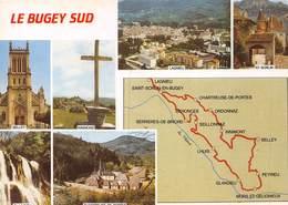 T19-GB-405 : LE BUGEY SUD. LAGNIEU. SAINT SORLIN INNIMOND BELLEY GLANDIEU. CHATREUSE DE PORTES - France