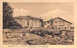 33 - MARJOSSE Par BRANNE : Une Vue à Identifier Précisement - CPA Village (1.290 Habitants) 1932 - Gironde - Sonstige Gemeinden