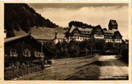 CPA AK Oberstdorf Sanatorium Wasach GERMANY (951733) - Oberstdorf