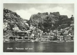 AMALFI - PANORAMA DAL MARE VIAGGIATA   FG - Salerno
