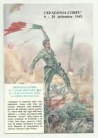 MEDAGLIA D'ORO AL VALOR MILITARE PER IL I BATT. MOB. GUARDI DI FINANZA - CEFALONIA-CORFU' 1943 - NV   FG - Regiments