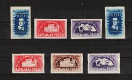 1948 - Semaine De La Presse Michel No 1154/1157 A+B Et Yv No 1059/1062 MNH - Nuovi