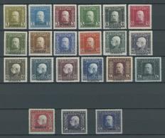 FELDPOST SERBIEN 1-21 *, 1914/6, Waagerechter Aufdruck, Falzreste, Prachtsatz, Mi. 320.- - Autriche