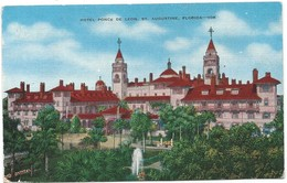 0369 - USA - FLORIDA - ST. AUGUSTINE - HOTEL PONCE DE LEON - St Augustine