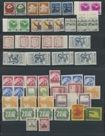 MANDSCHUKUO **,* , 1938-43, Meist Postfrische Kleine Partie, Fast Nur Prachterhaltung - 1932-45 Manchuria (Manchukuo)