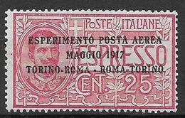 Italy - Italia -  1917 Mi. Nr. 126 - Ungebraucht