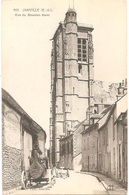 Dépt 28 - JANVILLE - Rue Du Bourdon Blanc - (Église) - Machines Agricoles Et Industrielles MEUNIER - Locomobile à Vapeur - Frankreich
