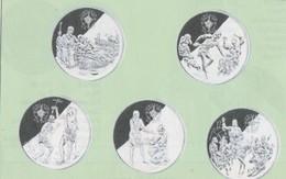 ANDORRA 8 MONEDAS PLATA  CALIDAD PROOF Nº 141-153  .  SERVEI D'EMISSIÓNS  (E.M. - Andorra