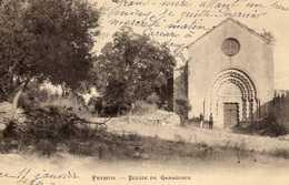 04 /  PEYRUIS / EGLISE DE GANAGOBIE - France