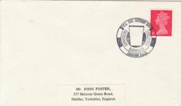 LONDON DAIRY FESTIVAL SPECIAL POSTMARK, QUEEN ELISABETH II STAMP ON COVER, 1970, UK - 1952-.... (Elizabeth II)