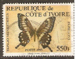 Ivory  Coast  1995 SG 1141  Butterfly   Fine Used - Côte D'Ivoire (1960-...)