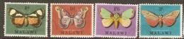 Malawi  1970  SG 358-61  Butterflies  Fine Used - Malawi