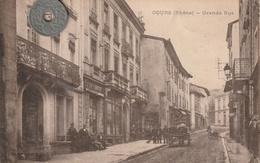 69 - Carte Postale Ancienne De  COURS   Grande Rue - Cours-la-Ville