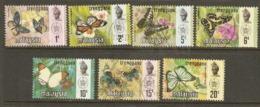 Malaysia  Trengganu  1971  SG 110-16    Butterflies  Fine Used - Malesia (1964-...)
