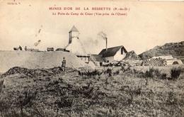 MINES D'OR DE LABESSETTE LE PUITS DU CAMP DE CESAR (VUE PRISE DE L'OUEST) - France