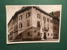 Cartolina Sondrio - Palazzo Municipale - 1935 - Sondrio