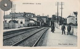 69- Carte Postale Ancienne De  OULLINS  La Gare - Oullins