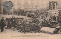 69 - Carte Postale Ancienne De   LYON   La Catastrophe De LYON SAINT JEAN - Non Classés