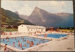 Ak Frankreich - Samoens -  Schwimmbad - Samoëns
